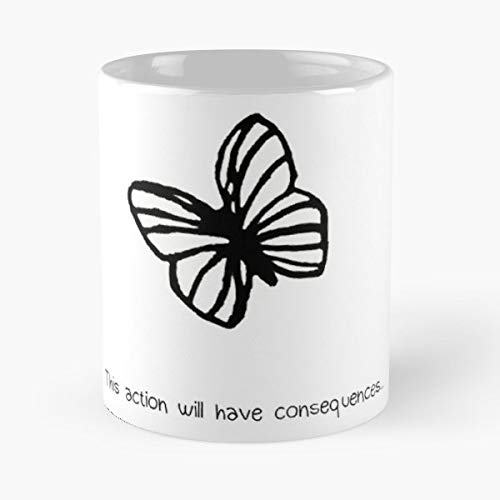 Life Is Strange Max Best Gift Ceramic Coffee Mugs (Butterfly Ps3)