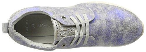 Marco Tozzi 23700, Scarpe da Ginnastica Basse Donna Blu (Electric Blue 813)