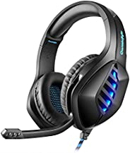 Cosmic Byte GS430 Gaming Headphone, 7 Color RGB LED and Microphone for PC, PS5, Xbox, Mobiles, Tablets, Laptop