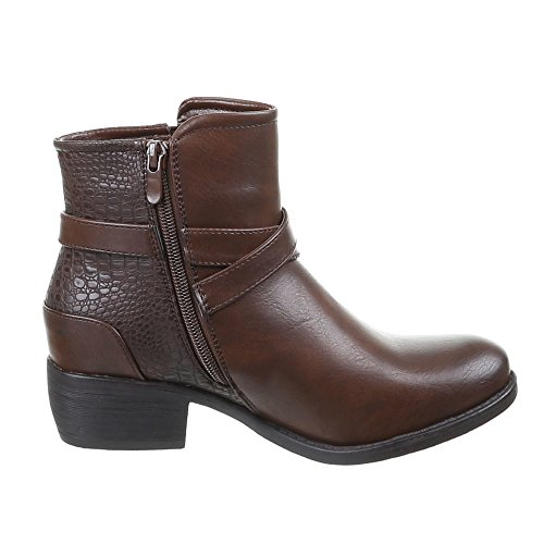 Chaussures, bottines pa - 710 Marron - Marron