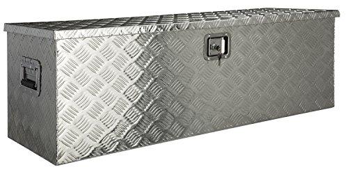 #Aluminium Werkzeug Metallbox Alubox Alukiste Werkzeugkiste Werkzeugkasten Metallkiste Box Blechkiste ca.180 L Truckbox#