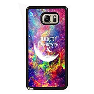 Take Me To Neverland Design Slim Metal Back Case for Samsung Galaxy Note 4 #04201868