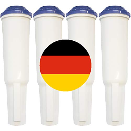 UNIWATER 4 Wasserfilter I Filterpatrone für Jura Claris White bis Baujahr 2009 außer ENA Claris Blue/Filter für Ihren Kaffeevollautomaten