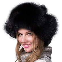 FENICAL Sombrero de Piel montañés Mujeres Moda Estilo Gorro de Invierno  cálido para Mujeres ... 54095865ffb2