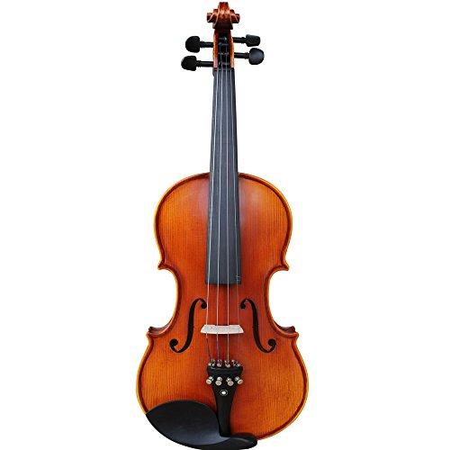 Yashi Violine ysv005mit Fall, Kolophonium und Bogen, matt Lackieren