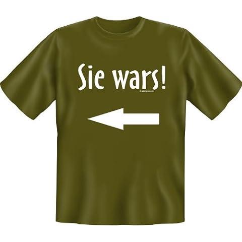 T-Shirt con: tutto è possibile! (colore: verde oliva)