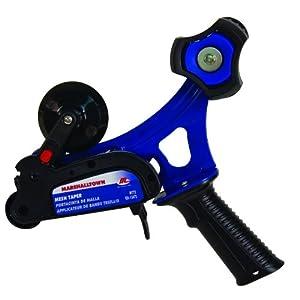 Marshalltown 13472 Piso pavimento, Parche Incl. Junta de inclinación con Rosca y Extremos Cuadrados, de Acero Azul, tamaño del alisador: 914×127 mm, negro, 318×254 mm