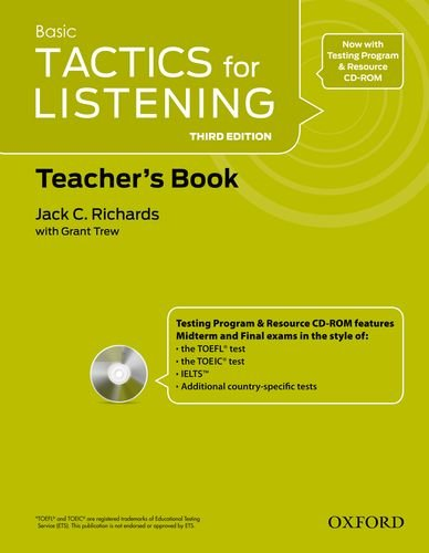 Tactics For Listening Teacher's Resource 1. Pack 3rd Edition