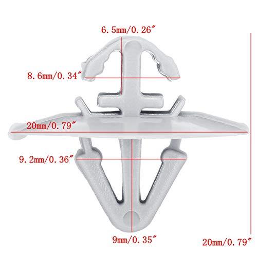 8565.35 PER CITROEN 5pcs Porta esterna stampaggio tagliare clip