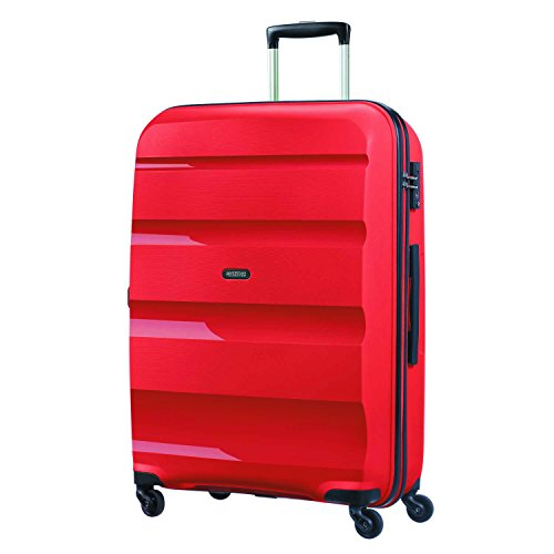American Tourister Bon Air - Spinner L Equipaje de mano, 75 cm, 91 liters, Rojo (Magma Red)