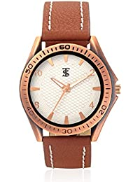 Teesort Analog Watch With Leather Strap WATCH-101