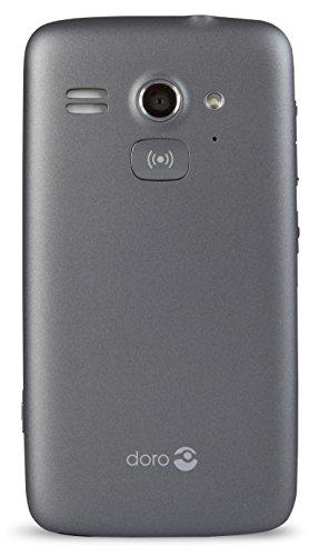 Doro Liberto 820 Mini – 3G Smartphone (4″ Touchscreen, 5 MP Kamera, GPS, Bluetooth 4.0, WiFi, Android 4.4) stahl/schwarz - 2