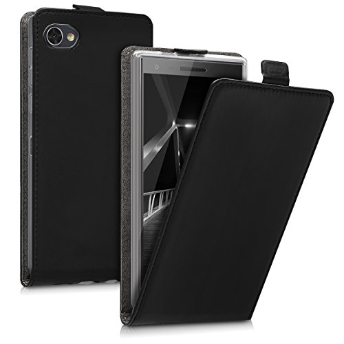 kwmobile BlackBerry Motion Hülle - Handyhülle für BlackBerry Motion - Handy Case Flip Schutzhülle