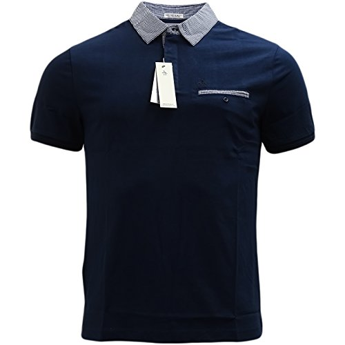 original-penguin-polo-para-hombre-azul-dark-sapphire-medium