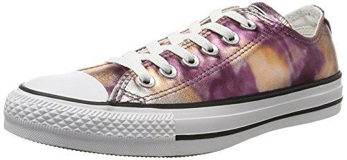 Converse Unisex-Erwachsene CTAS Ox Dusk Pink/White/Black Sneaker, Mehrfarbig (Dusk Pink), 39 EU