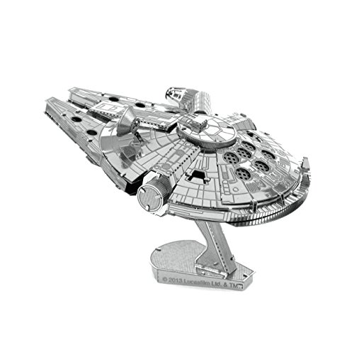 Metal Earth - Fascinations, Star Wars Millennium Falcon 3D metal puzzle, quality...