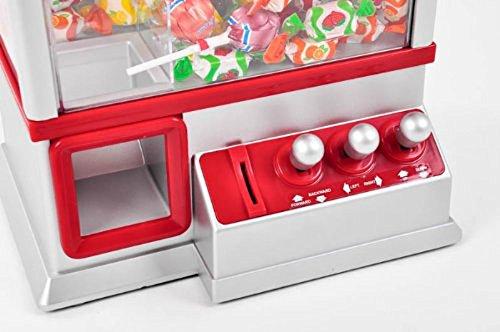 Brigamo®448 – Inklusive Süßigkeiten: Candy Grabber Komplettset inkl. Kinder® Schoko Bons, Süßigkeiten Automat - 4