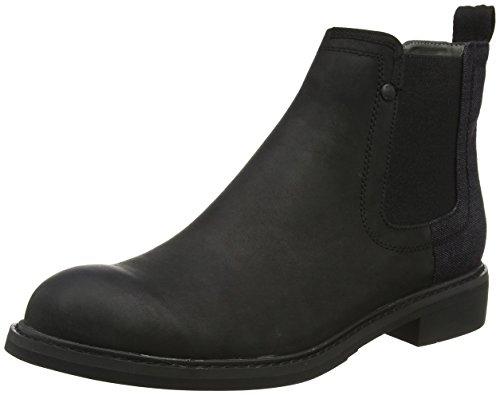 g star stiefeletten G-STAR RAW Herren WARTH Chelsea Boots, Schwarz (Black), 44 EU