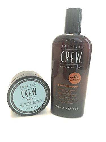 American Crew Classic in fibra 85G & Daily Shampoo, 250ML