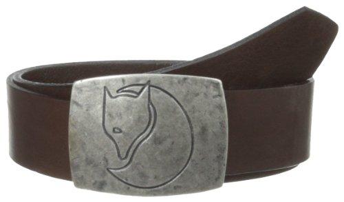 FJÄLLRÄVEN Murena Silver Gürtel, Leather Brown, XL