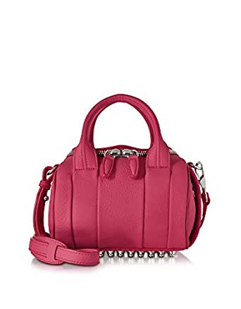 ALEXANDER WANG WOMEN'S 20S0199533 FUCHSIA LEATHER HANDBAG