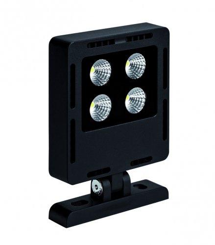 projecteur à led - aric udson led - 25w - 4000k - 60d - noir - aric 50314