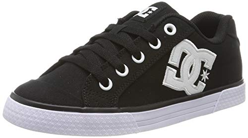 DC Shoes Damen Chelsea Tx - Shoes for Women Sneaker, White/Black, 40 EU -