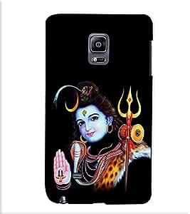 Fuson Designer Back Case Cover for Samsung Galaxy Note Edge :: Samsung Galaxy Note Edge N915Fy N915A N915T N915K/N915L/N915S N915G N915D (Happy Shiv theme)