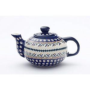 Boleslawiec Pottery Small teapot 0.42L, pattern 104AR