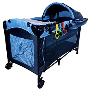 lit bebe lit parapluie pliant lit de voyage arti l6 fresh blue navy blue b b s. Black Bedroom Furniture Sets. Home Design Ideas