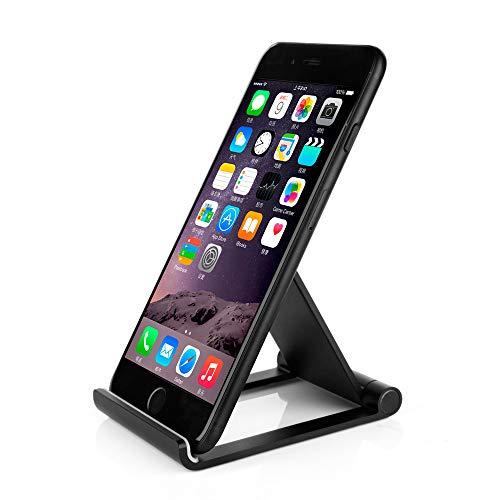 Xshuai Handyhalter Mobile Justierbarer Aluminiumlegierungs-Halter-Stand-Dock für iPad Pro-Tablet-Handy GPS handyhalter tischständer Handyhalter (Schwarz) - Gps-lock