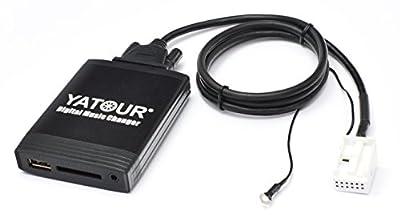 Yatour Adaptateur USB/SD/AUX/MP3 et système Bluetooth pour VW Delta/Premium / R110 / RCD200 / Audi Chorus 2+/3 / Concert 2+/3 / Symphony 2+/3 / Navigation Plus 3 / RNS-E / BNS 5.0 / Skoda Rhapsody de YATOUR