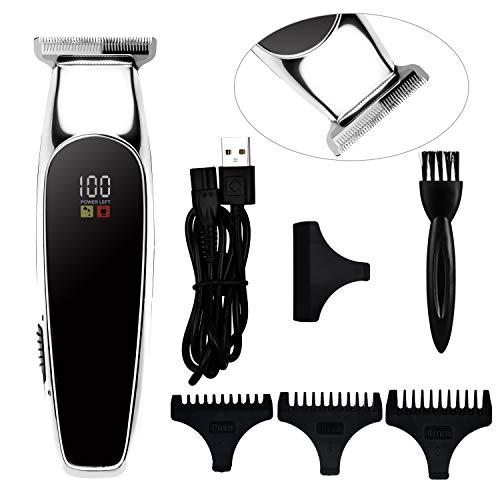 Surker Profi Haarschneidemaschine Haarschneider Elektrische Haartrimmer Kabellose Barttrimmer Bartschneider Präzisionstrimmer Herren Kinder Wiederaufladbar USB