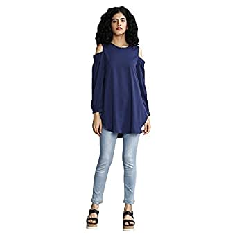 Rheson by Sonam & Rhea Kapoor by Shoppers Stop Women's The Vaca Cold Sholder