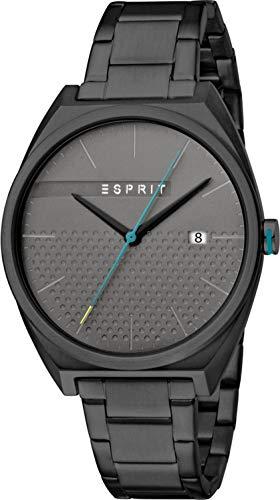 Esprit Reloj Analógico para Hombre de Cuarzo con Correa en Acero Inoxidable ES1G056M0085
