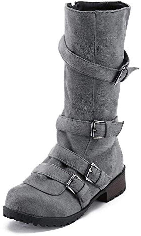 Oudan Chaussures Bottes Femmes Chaussures Oudan Chaussures Décontractées Bottes Martin Bottes Femmes Bottes Bottes Longues Bottes...B07KJ11JSYParent 4153a7