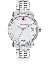 Chrono Diamond 82134 - Reloj para mujeres, correa de metal color plateado