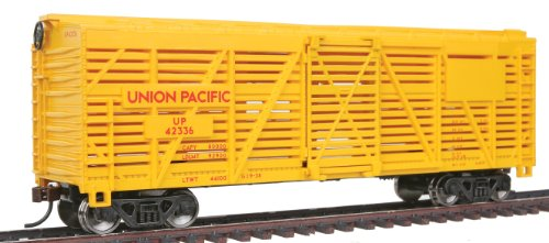 walthers-trainline-40-stock-car-with-metal-wheels-ready-to-run-union-pacific