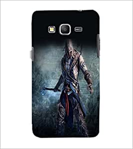 PrintDhaba Warrior D-2253 Back Case Cover for SAMSUNG GALAXY GRAND PRIME (Multi-Coloured)