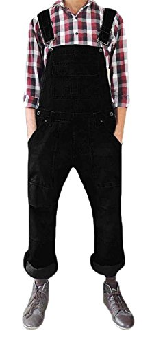 True Face Dungarees Black L