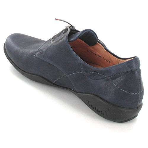 Think!  0-80927-86, Chaussures à lacets et coupe classique homme Bleu