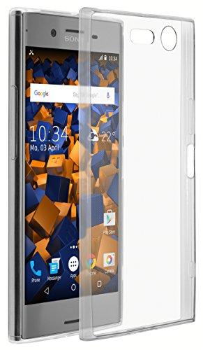 mumbi UltraSlim Hülle für Sony Xperia XZ Premium Schutzhülle transparent (Ultra Slim - 0.70 mm)