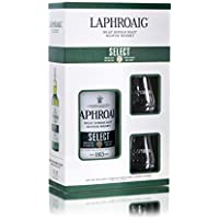 Laphroaig Select Islay Single Malt Scotch Whisky Gift Pack, 70 cl