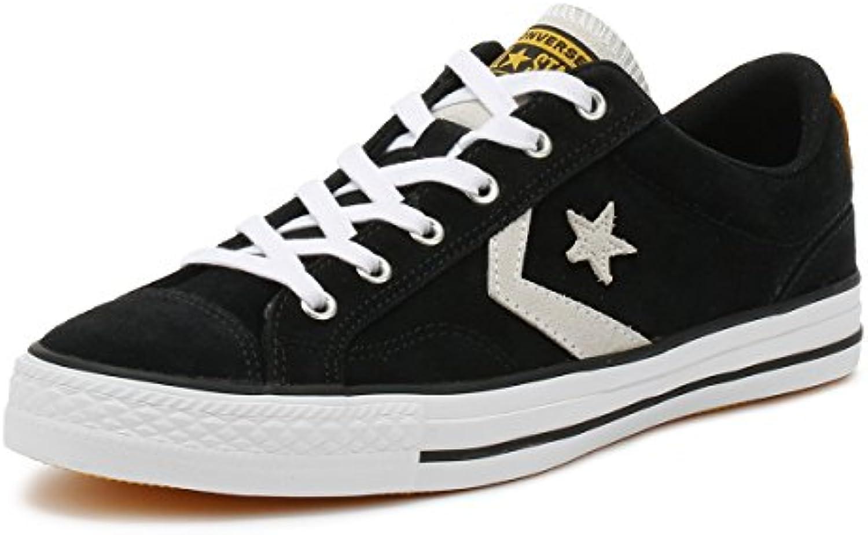 Converse Unisex Erwachsene Lifestyle Star Player OX Sneakers  Schwarz/Weiß