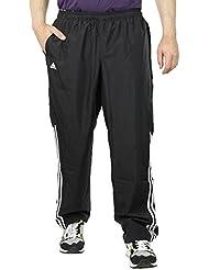 adidas Response–Pantalones de chándal, hombre, Trainingshose Response, negro/blanco, large
