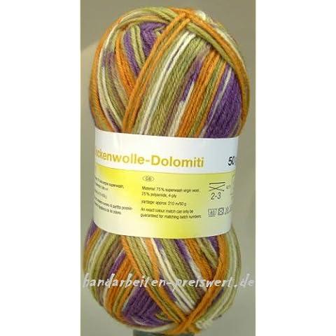 Calzini lana Dolimiti 4x 50g, con istruzioni,