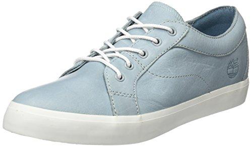 Timberland Flannery Oxfordstone Blue Escape Full Grain, Sneakers Basses Femme Bleu (Stone Blue Escape Full Grain)
