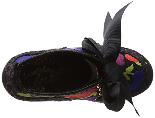 Irregular Choice Abigail's Third Party, Escarpins femme Black (Black Multi Floral)