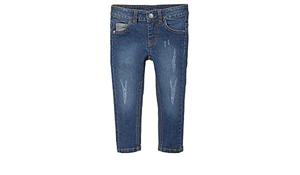 Vertbaudet Gerade Jeans f/ür Baby Jungen