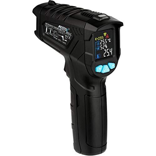 Termómetro infrarrojo MASO de mano sin contacto, termómetro digital láser infrarrojo con infrarrojos...